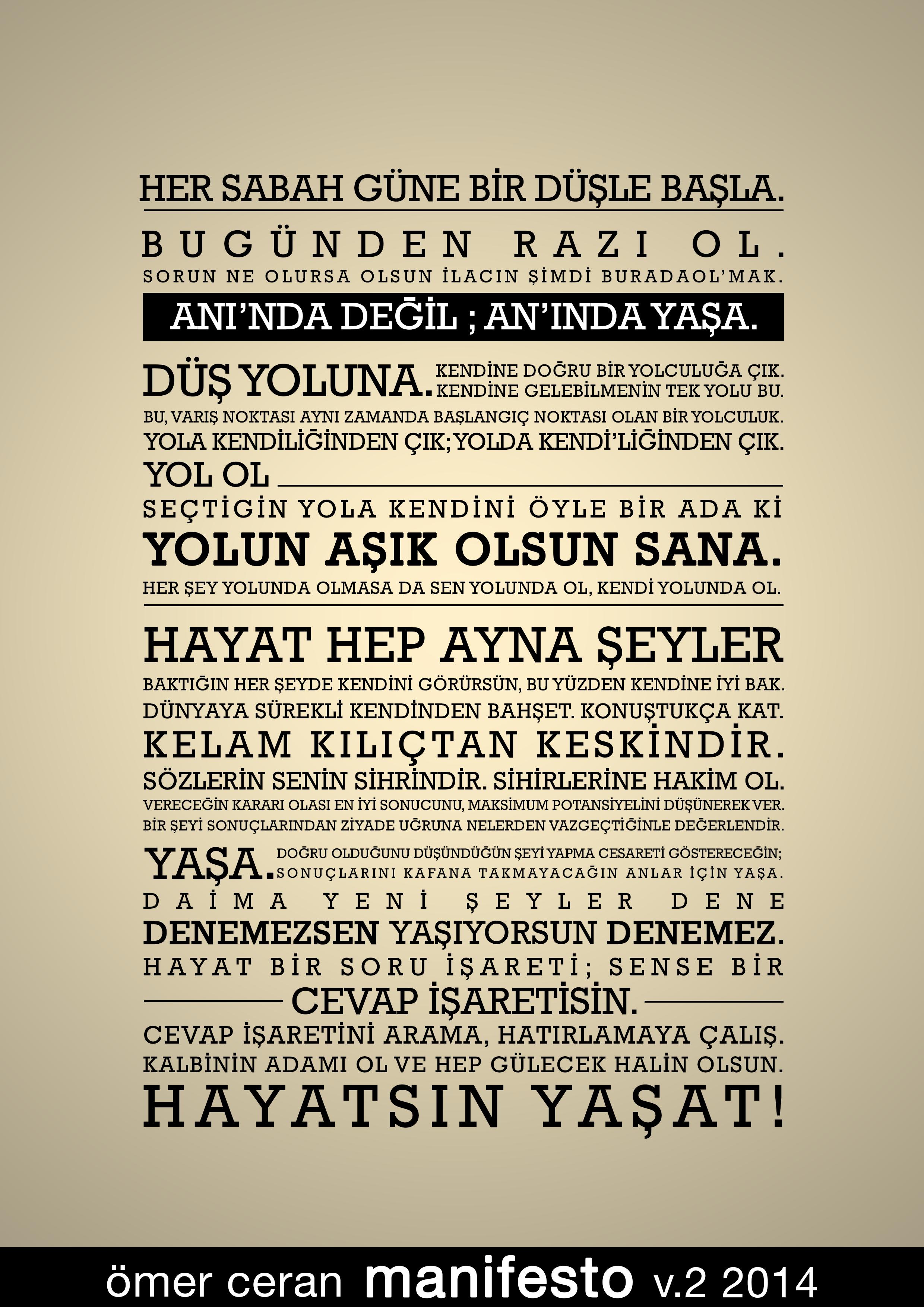 Ömer Ceran Manifesto v3