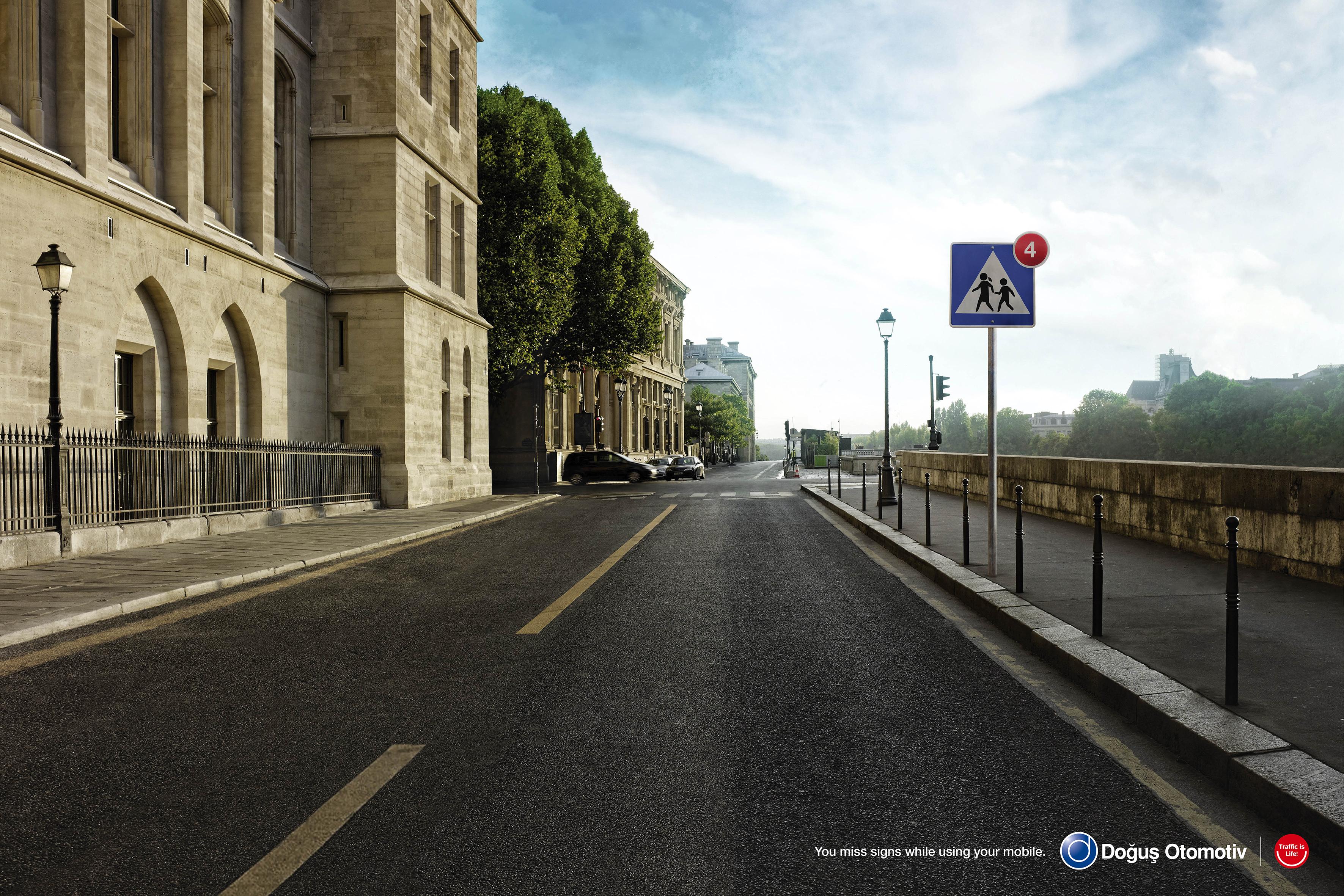 Doğuş Otomotiv Traffic is Life – Missed Sign H